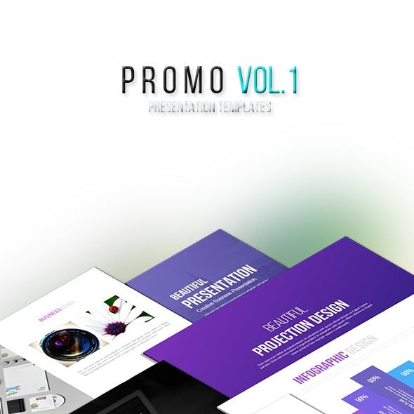 Promo Vol.1 - Keynote Templates