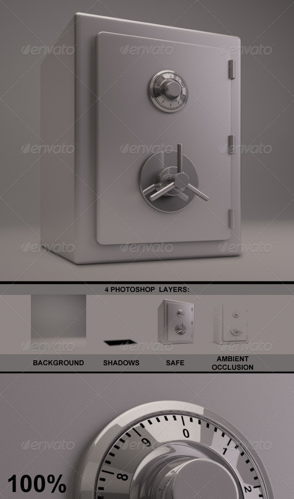 27 Best 3D Renders & Graphics - GraphicRiver for February 2019