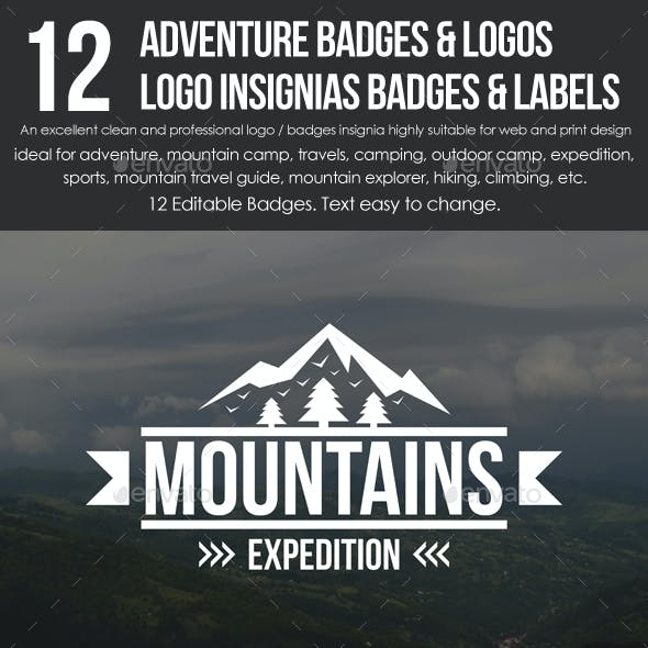 Adventure Badges & Logos