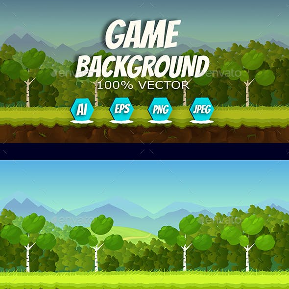 2d Game Background