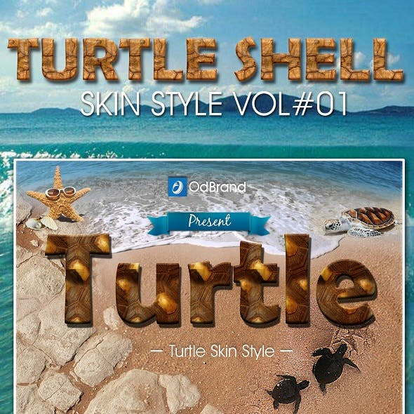 Turtle Shell Skin Style Vol.1