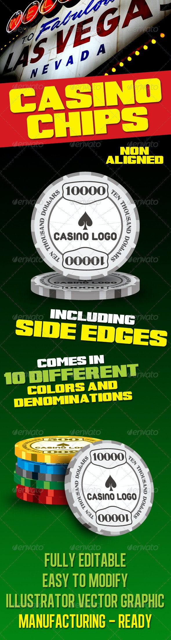 Casino And Gambling Chips - Man-made Objects Objects