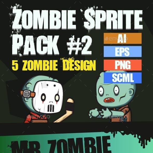 Zombie Enemy Pack #1 Spritesheet