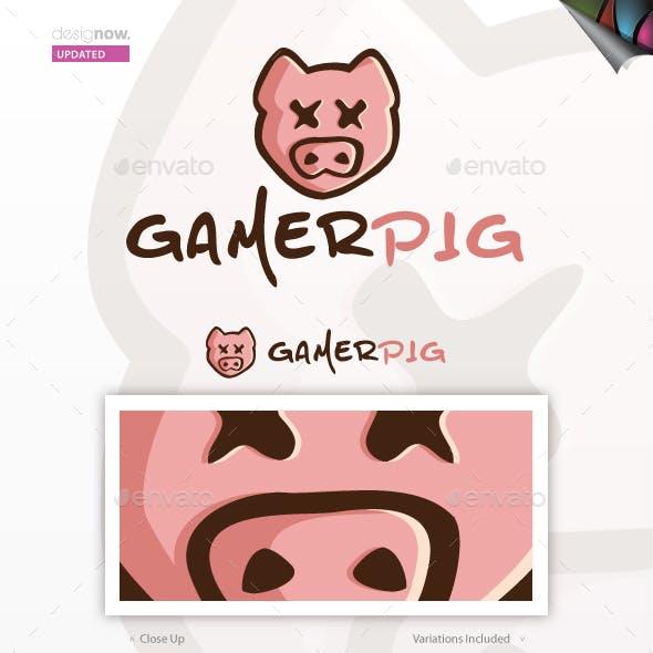 Gamer Pig Logo