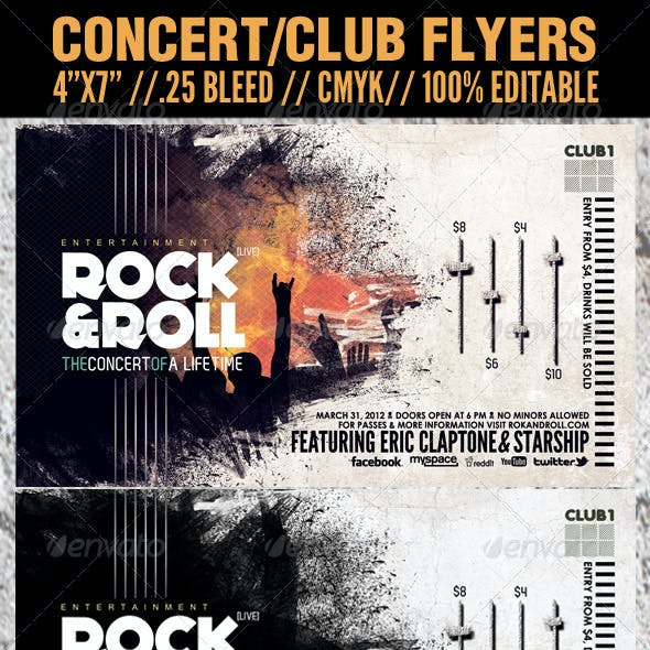 Free Graphicriver Flyers Graphics, Designs & Templates