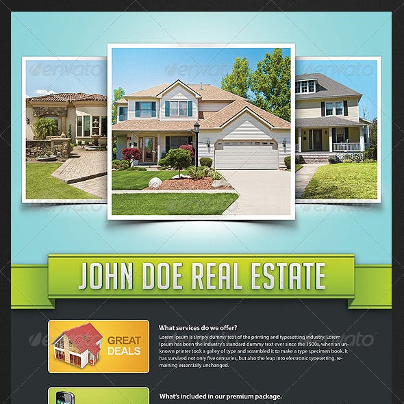Corporate Real Estate Flyer
