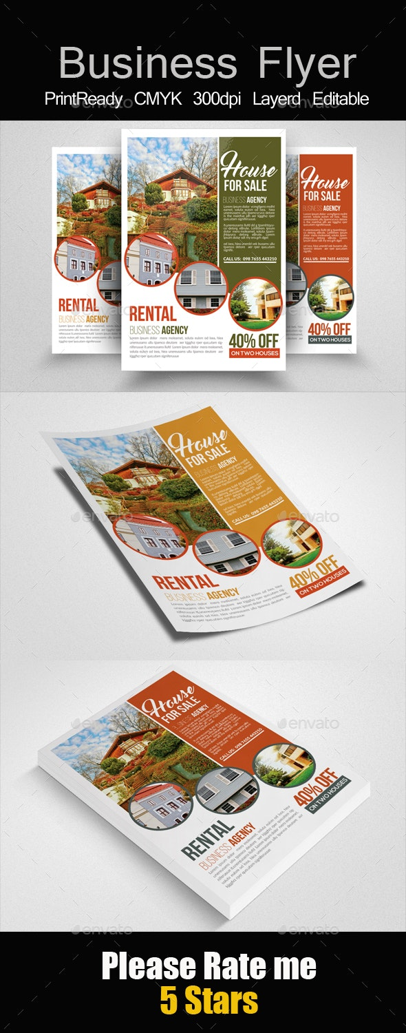 House For Sale Flyer Templates - Corporate Flyers