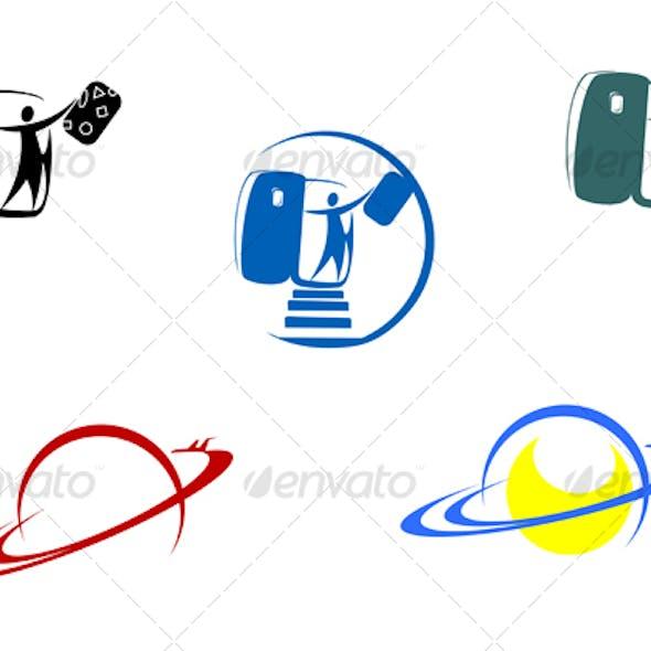Aviation and travel symbols
