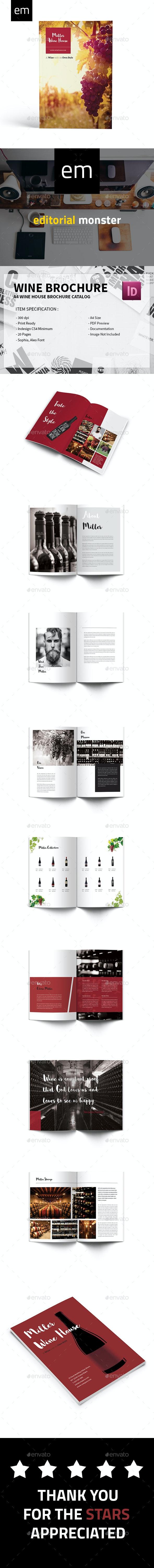 Wine Brochure - Catalogs Brochures