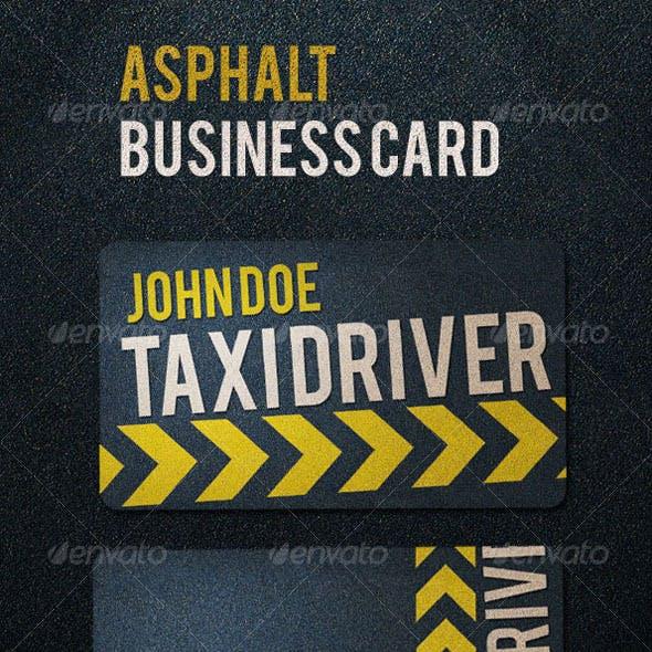 Asphalt Business Card