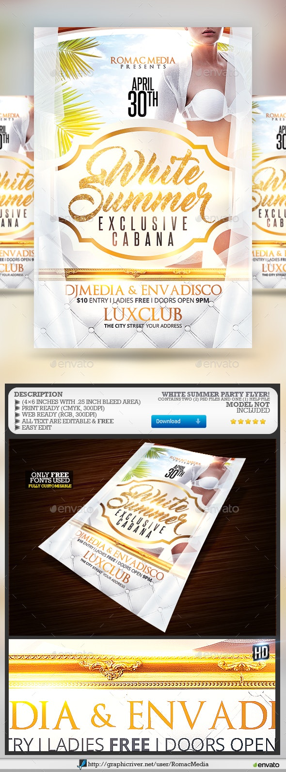 White Summer Party - Clubs & Parties Events