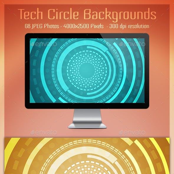 Tech Circle Backgrounds