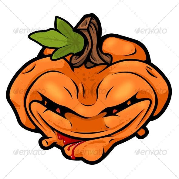 Halloween Jack-O-Lantern - Monsters Characters