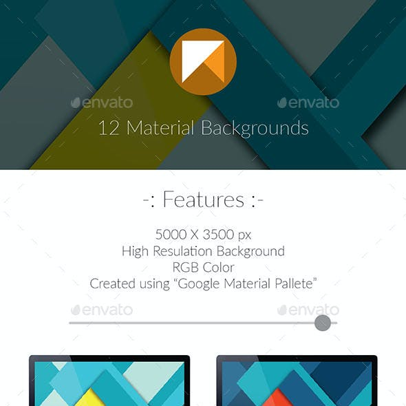 4K Material Backgrounds