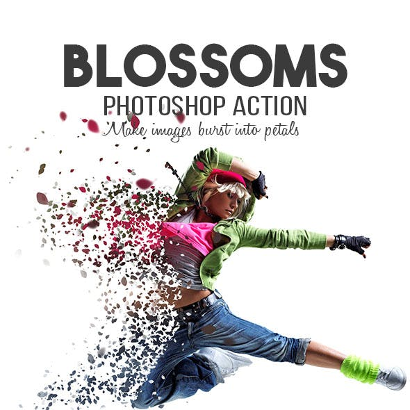 Blossoms Photoshop Action