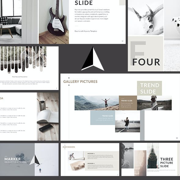Practical - Clean trend Keynote Template