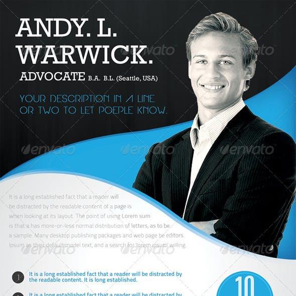 Advocate / Corporate Flyer