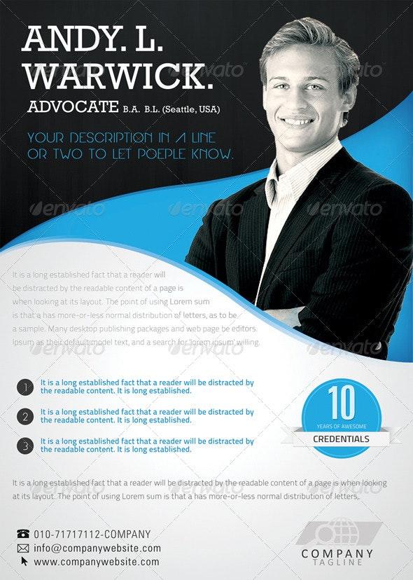 Advocate / Corporate Flyer - Corporate Flyers