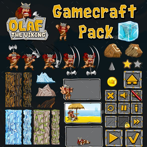 Olaf The Viking - Game Assets