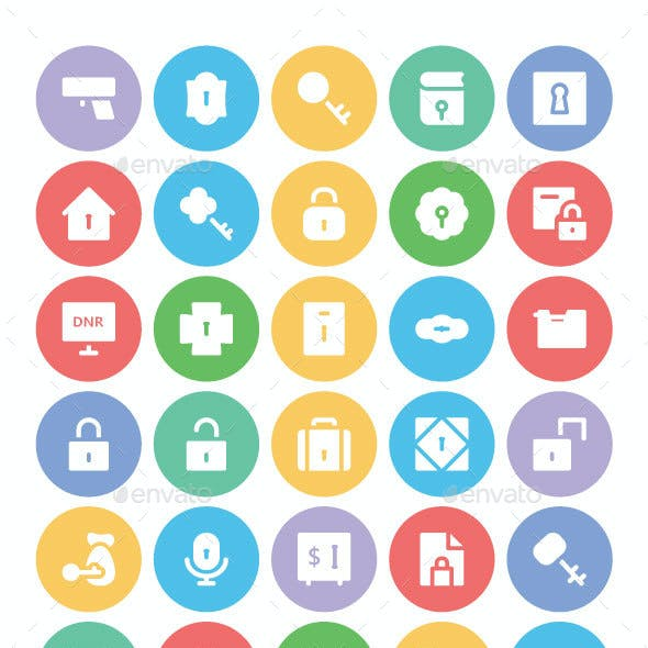 150 Security Vector Icons