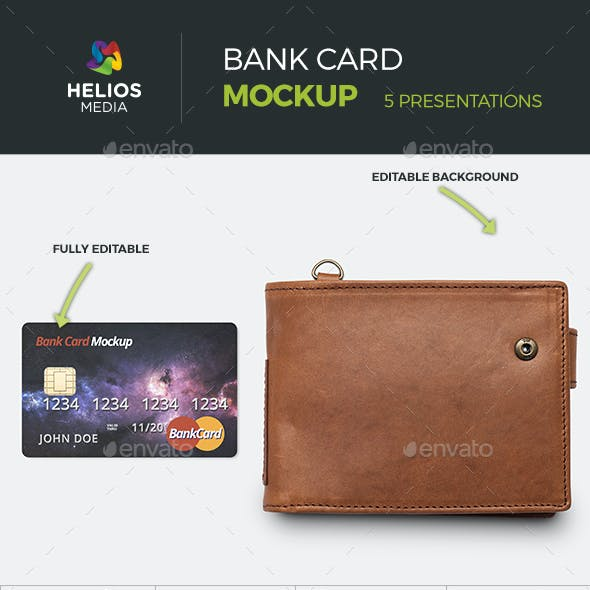 Credit Card Bank Mockup