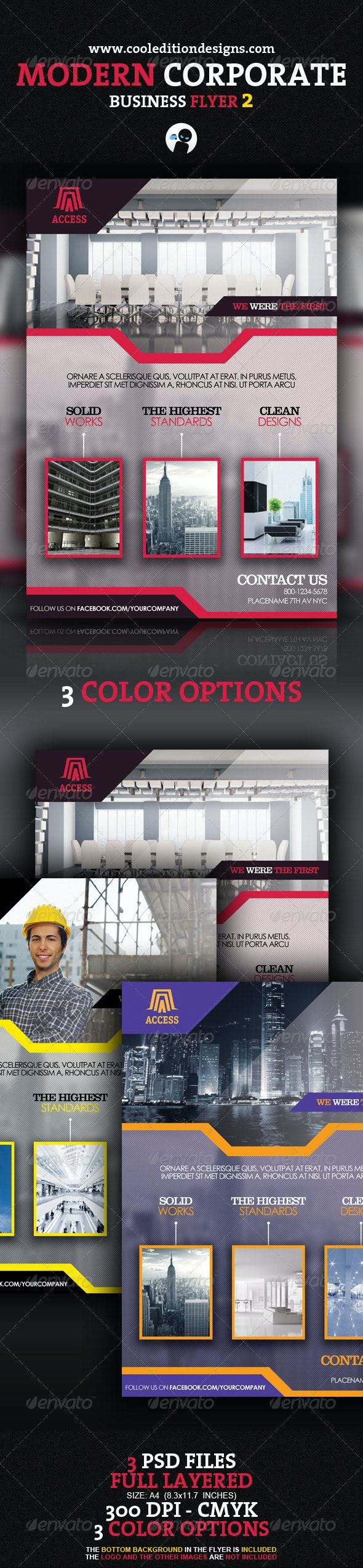 Modern Corporate Business Flyer 2 - Corporate Flyers