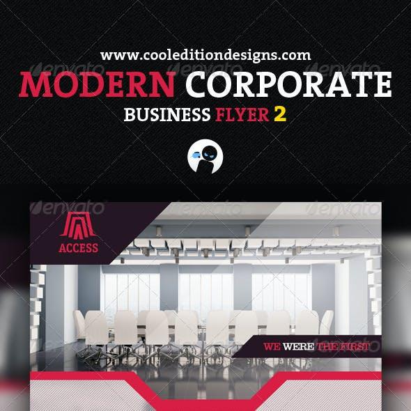 Modern Corporate Business Flyer 2