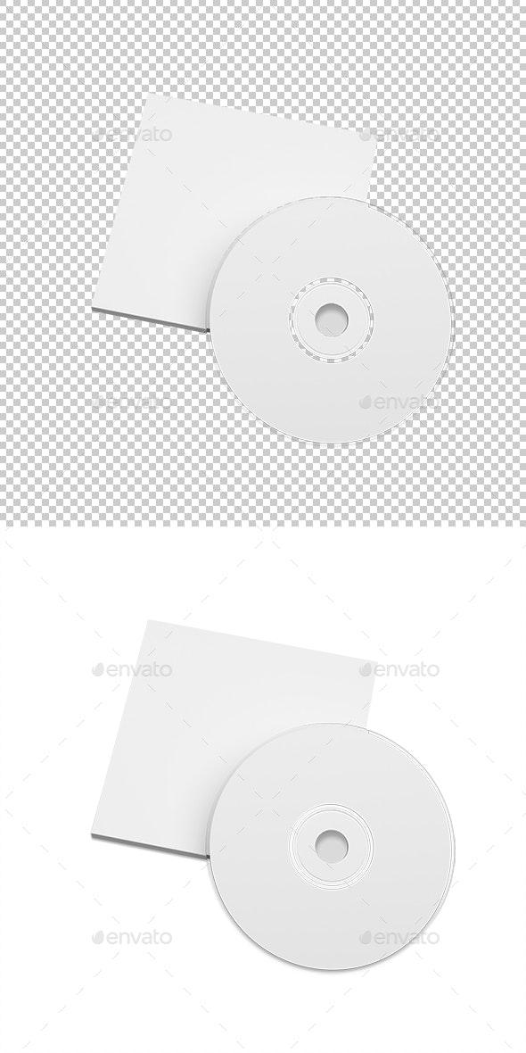 Cd box - Objects 3D Renders