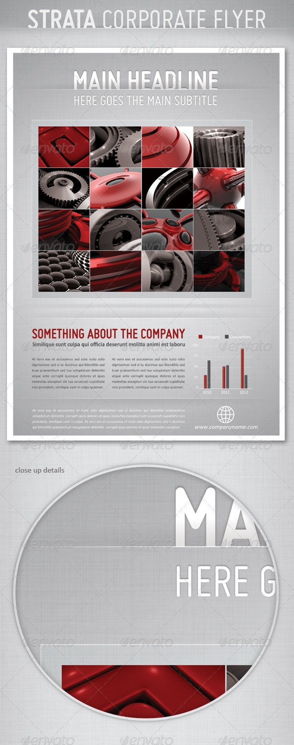 Strata Corporate Flyer - Corporate Flyers