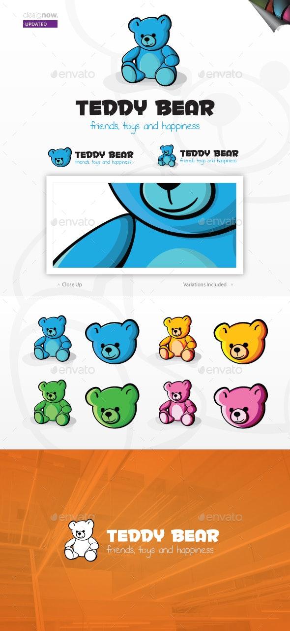 Teddy Bear Logo - Animals Logo Templates