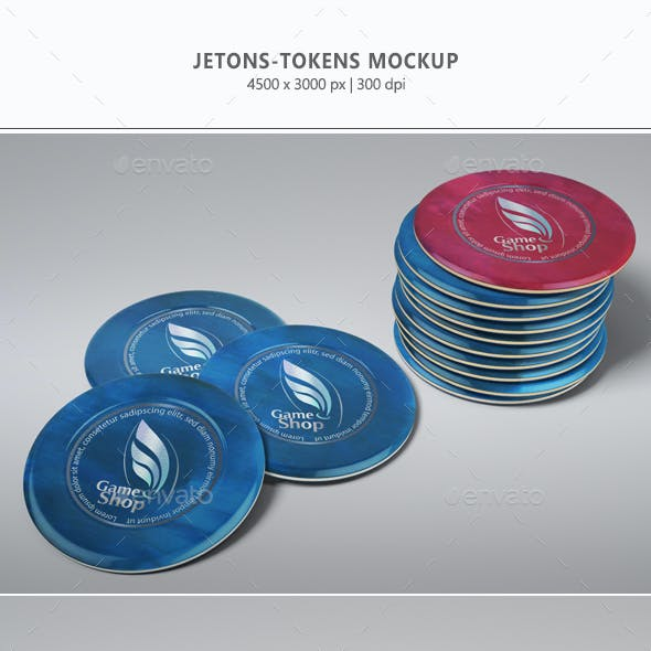 Jetons - Tokens Mock-up