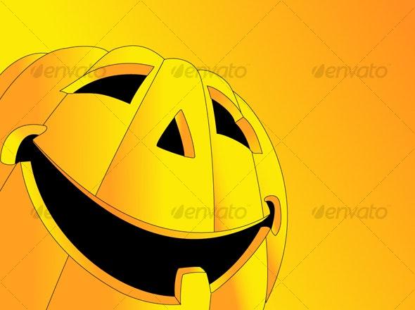 Halloween Pumkin - Halloween Seasons/Holidays