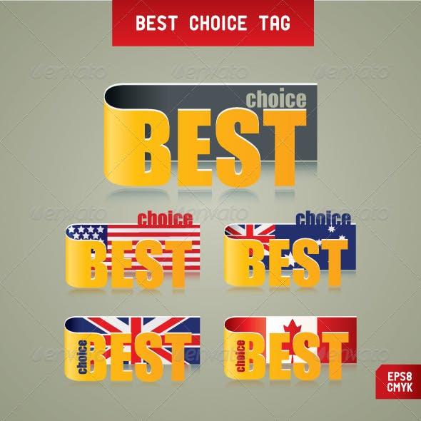 Best Choice Tags.