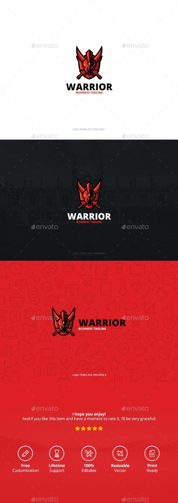 Warrior Logo - Logo Templates
