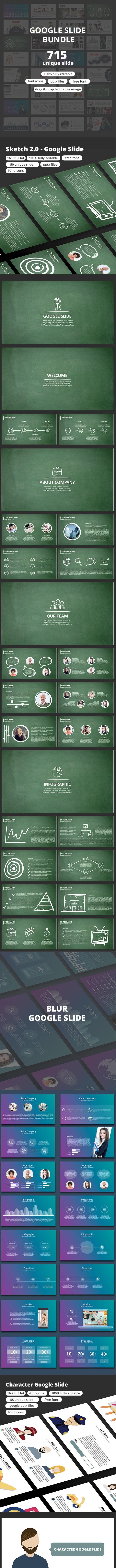 The Google Slide Bundle - Google Slides Presentation Templates
