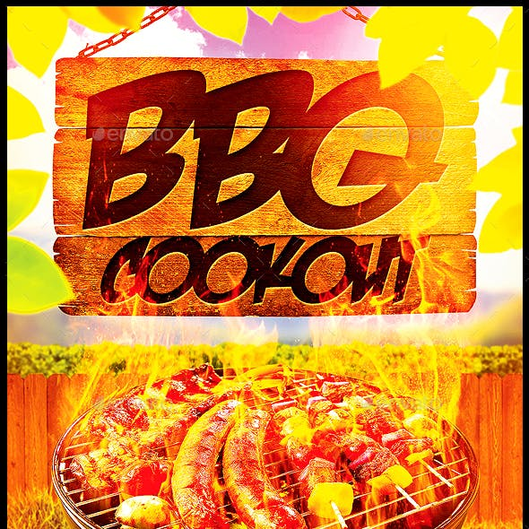 BBQ Cookout Flyer