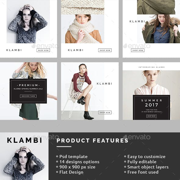 Fashion Instagram Banners