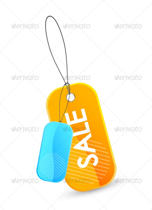 Price tag icon - Objects Vectors
