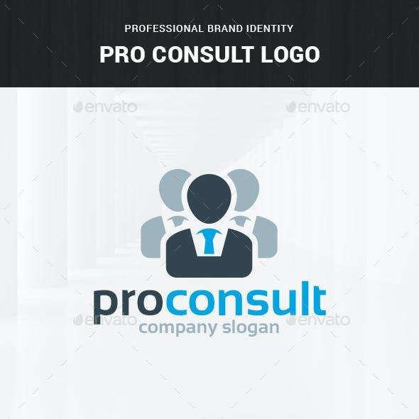 Pro Consult Logo Template