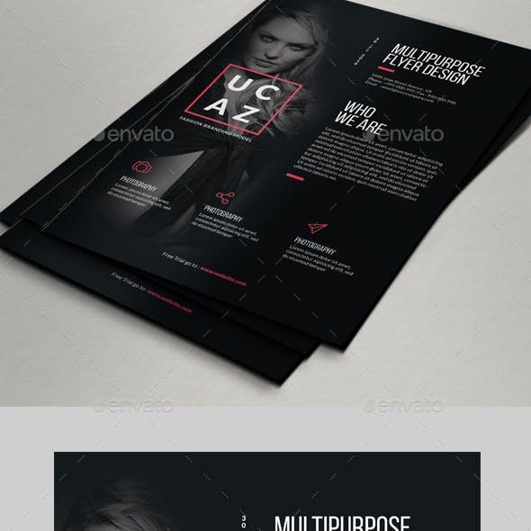 Multipurpose Fashion Flyer Designs