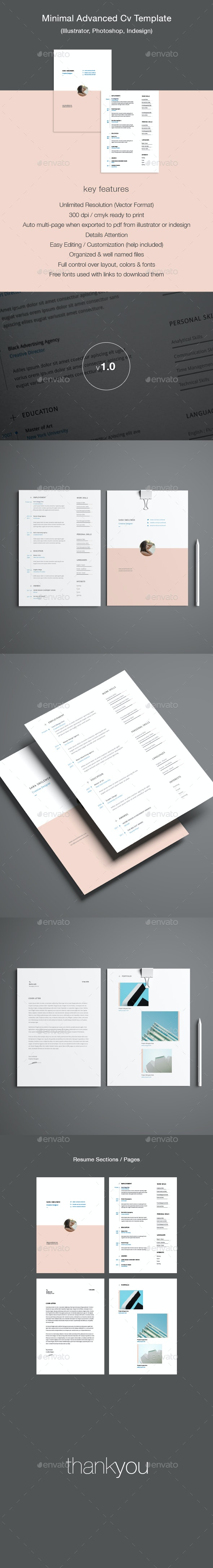 Advanced Resume Template - Resumes Stationery