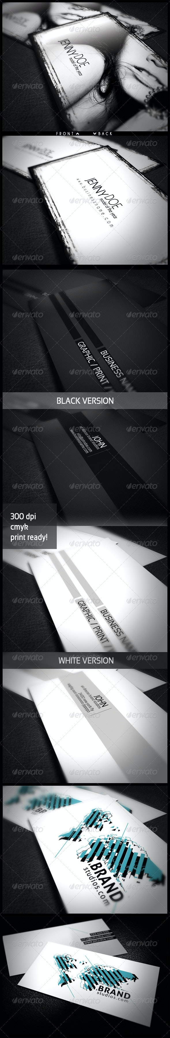 Fashion Bundle - Industry Specific Business Cards