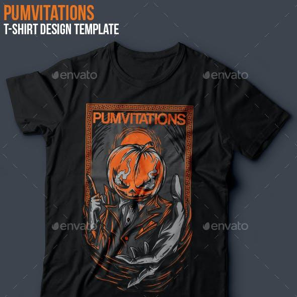 Pumvitations T-Shirt Design