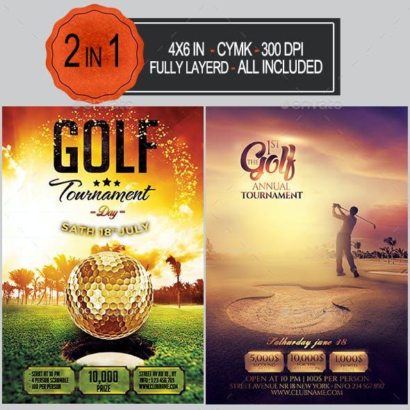 Golf Flyer Bundle