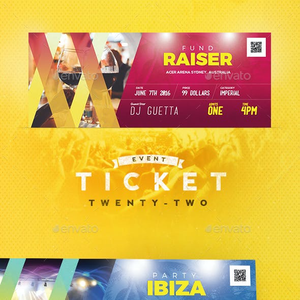 Event Tickets Template 22
