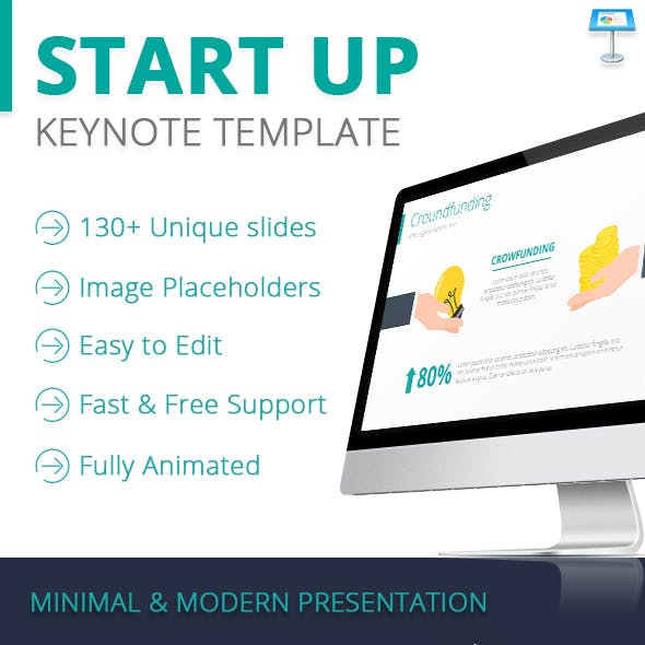 Startup Keynote Template