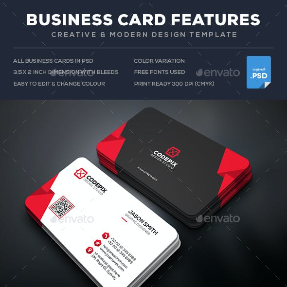 Shape Business Card