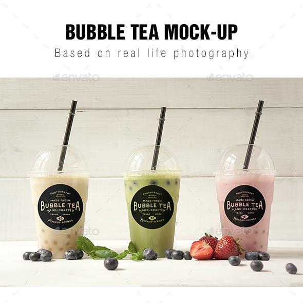 Bubble tea Mockup