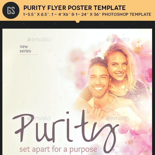 Purity Flyer Poster Template
