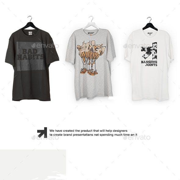 T-Shirt Mockups Bundle